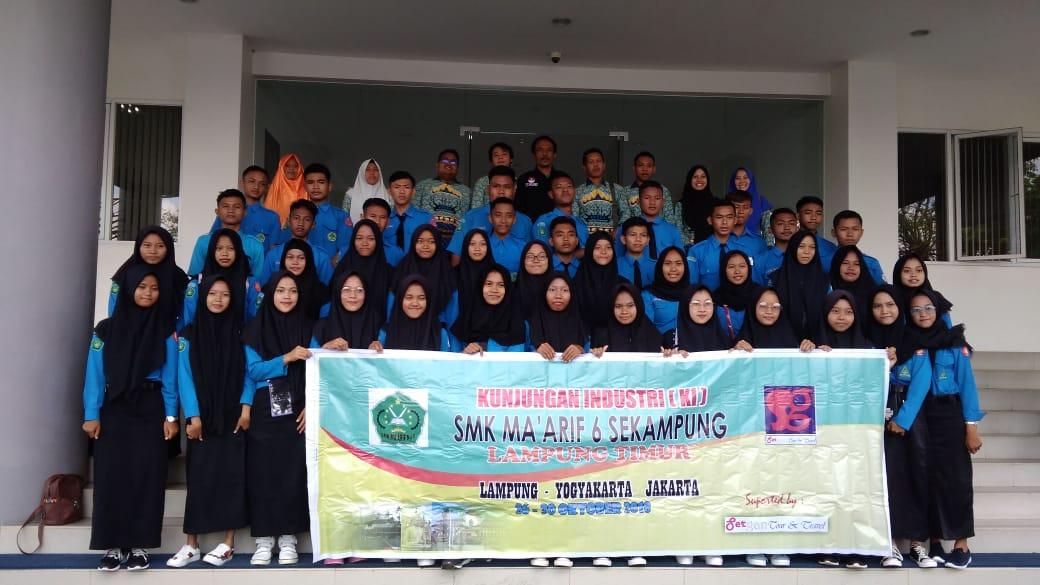 Kunjungan Industri SMK Maarif NU 06 Sekampung Lampung Timur