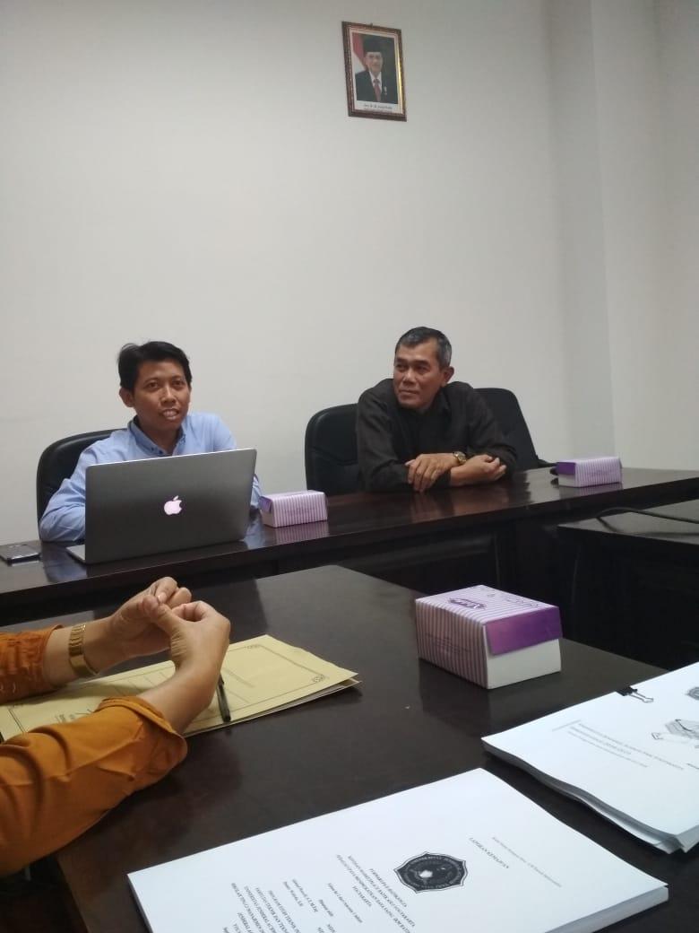 reviewer dan rektor unjani Yk dalam Monev Hibah penelitian 2018